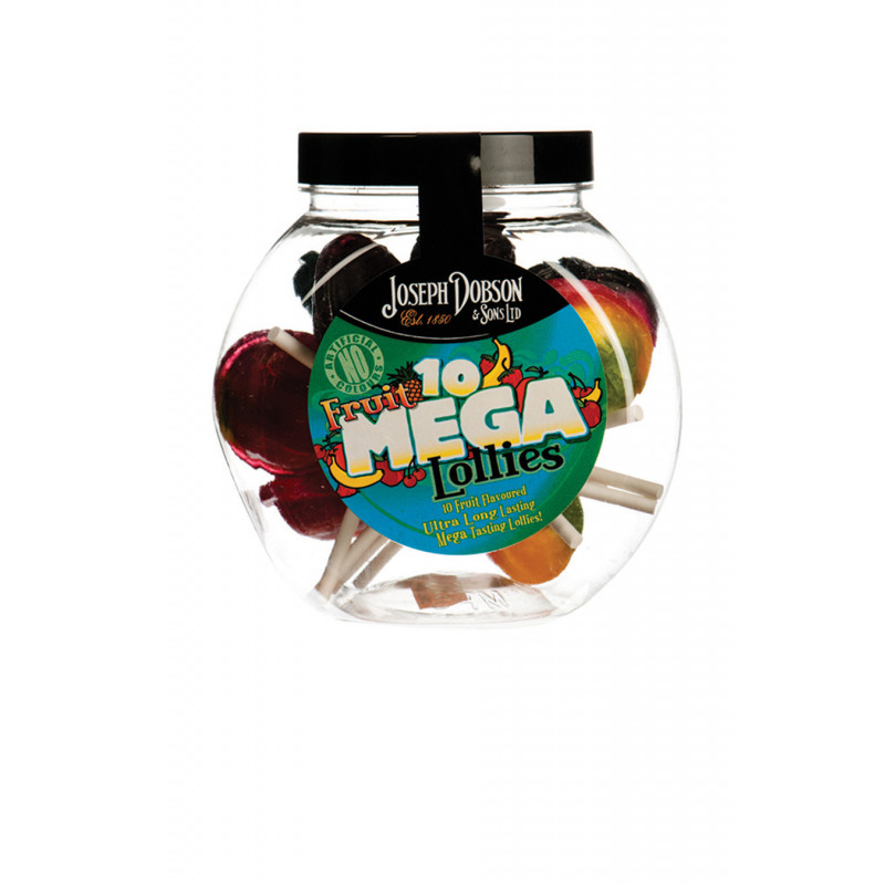 Fruit 10 Lollies Per Jar