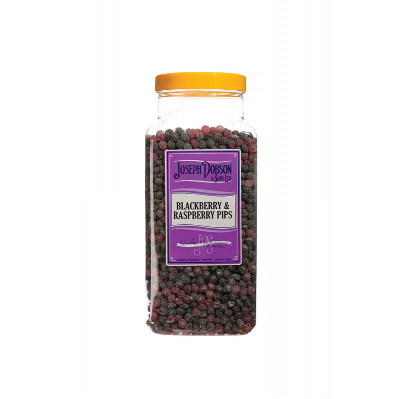 Blackberry & Raspberry Pips 2.72kg Large Jar