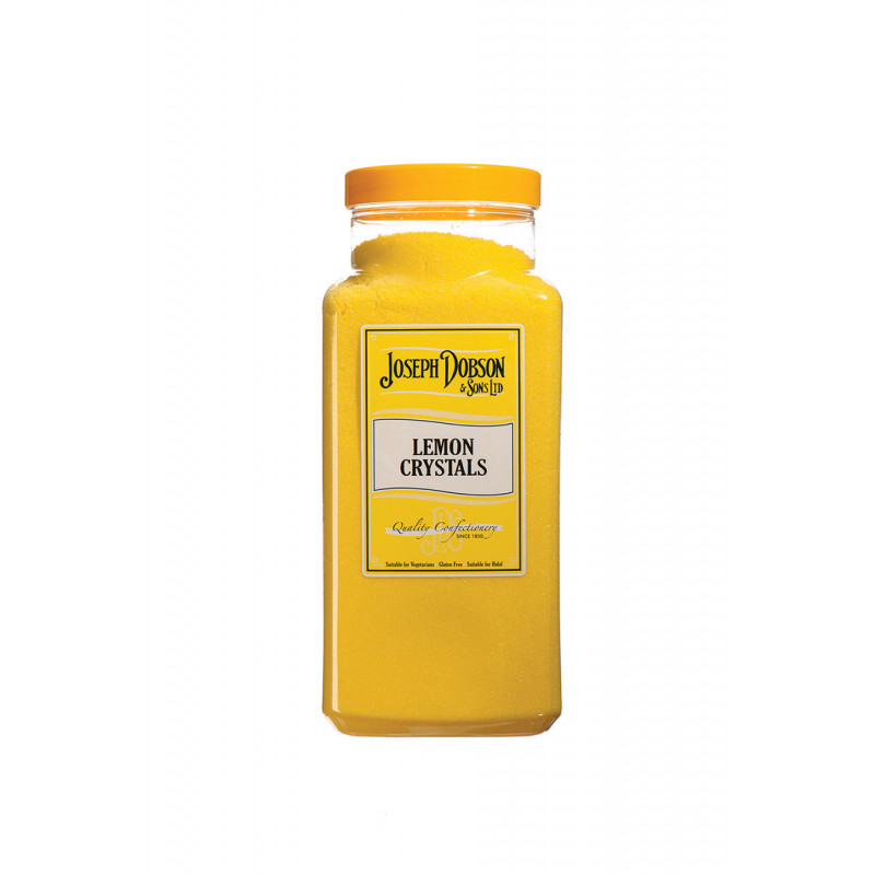 Lemon Crystals 2.72kg Large Jar