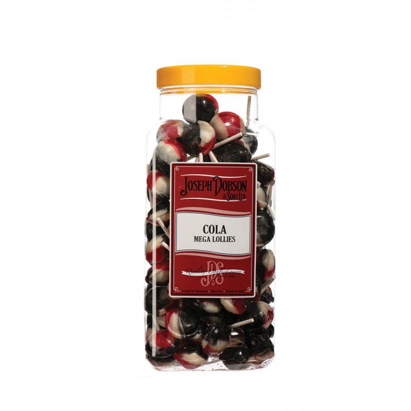 Cola 90 Lollies Per Jar