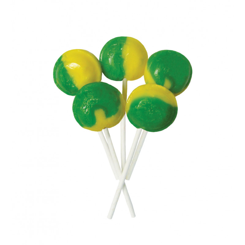 Lemon & Lime 5 Lollies Per Bag