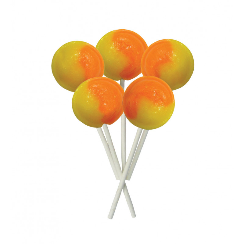Orange & Lemon 5 Lollies Per Bag