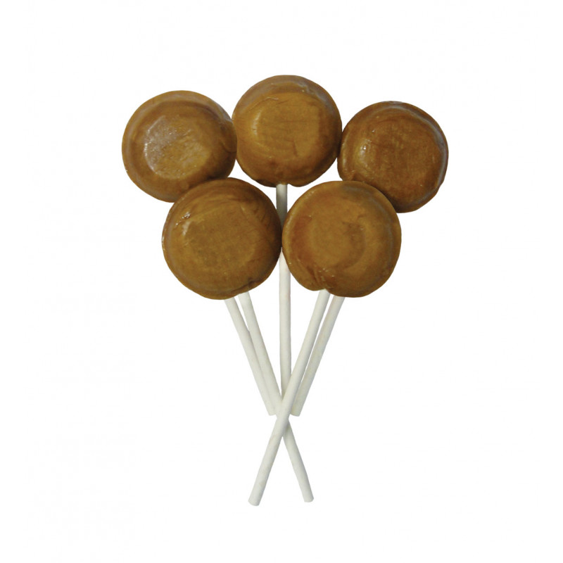 Toffee 5 Lollies Per Bag