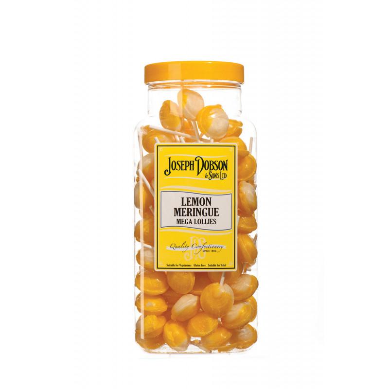 Lemon Meringue 90 Lollies Per Jar