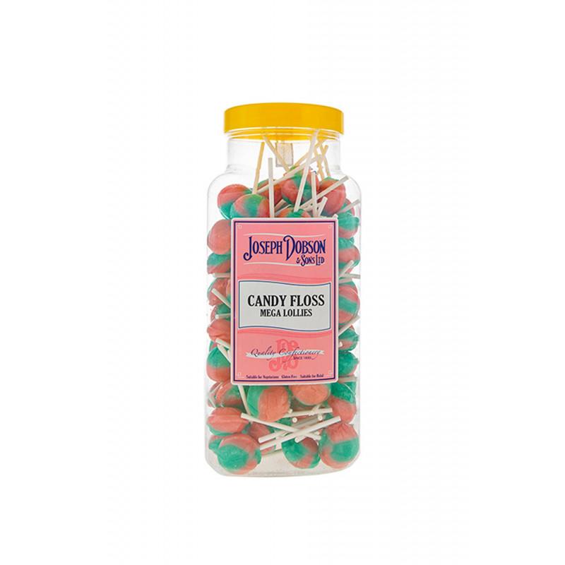 Candy Floss 90 Lollies Per Jar