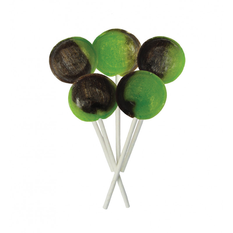 Chocolate Lime 5 Lollies Per Bag