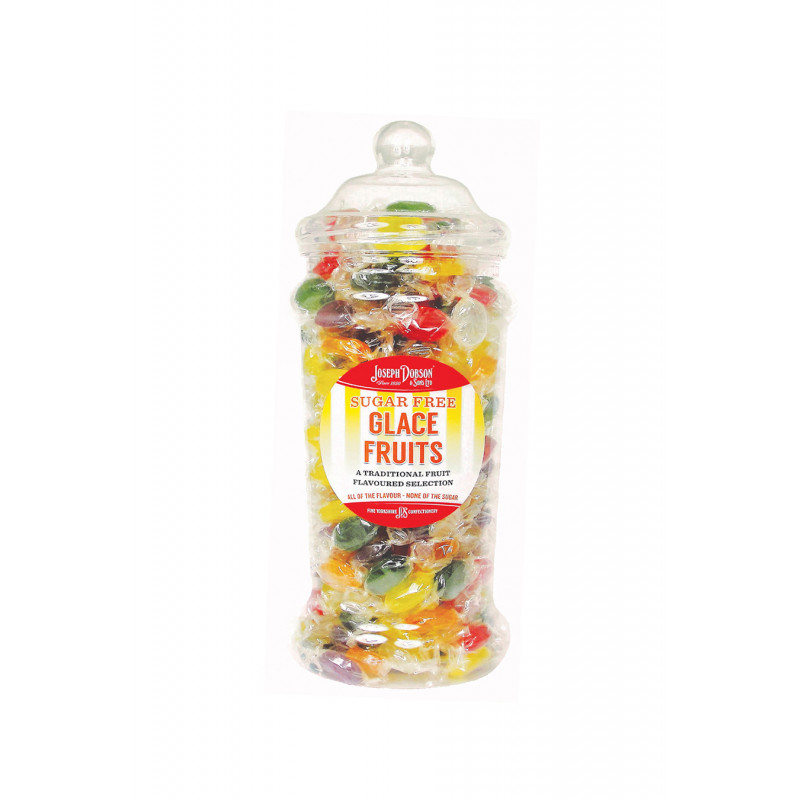Glace Fruits Sugar Free 1.2kg Victorian Jar