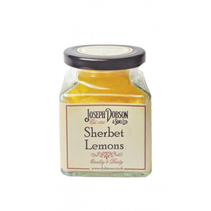 Sherbet Lemons 170g Glass Jar