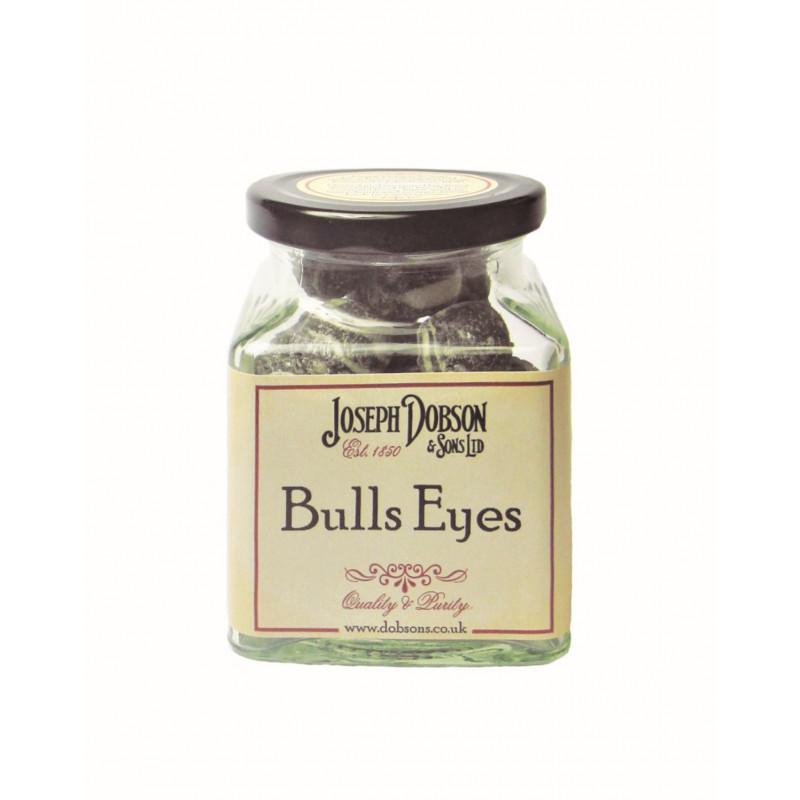 Bulls Eyes 160g Glass Jar