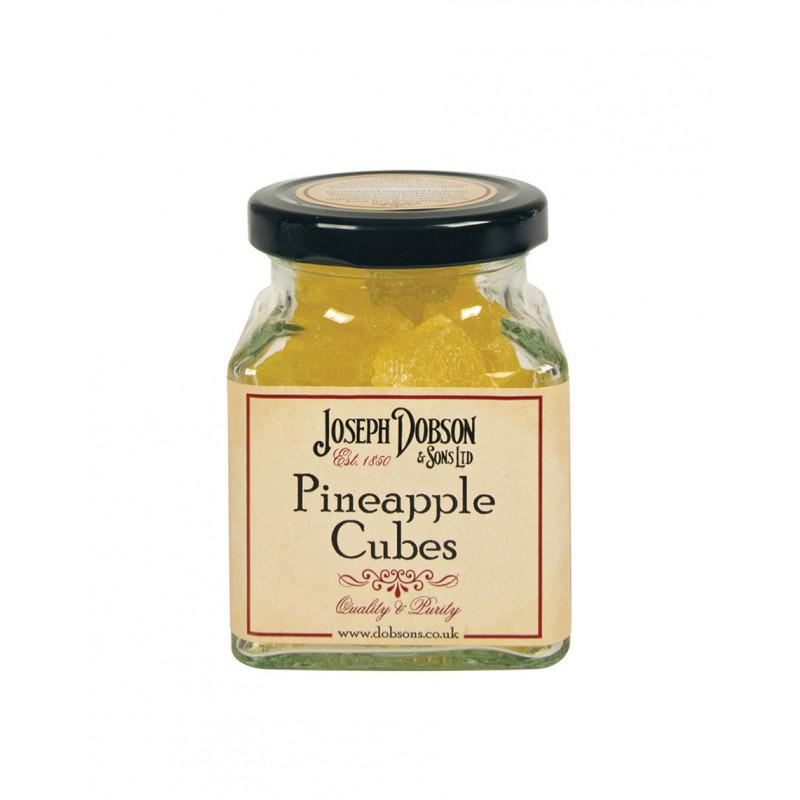 Pineapple Cubes 180g Glass Jar