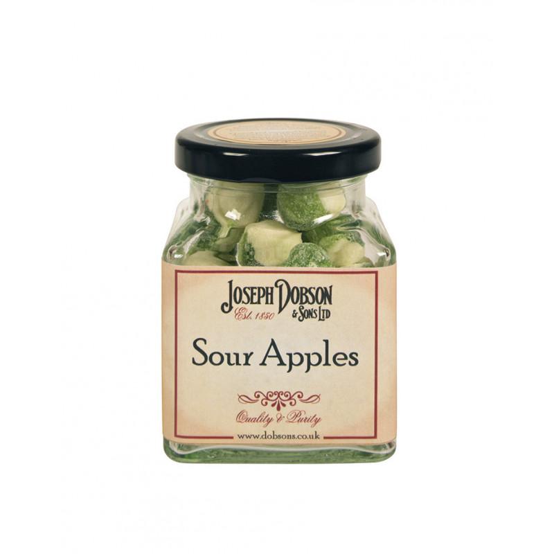 Sour Apples 160g Glass Jar