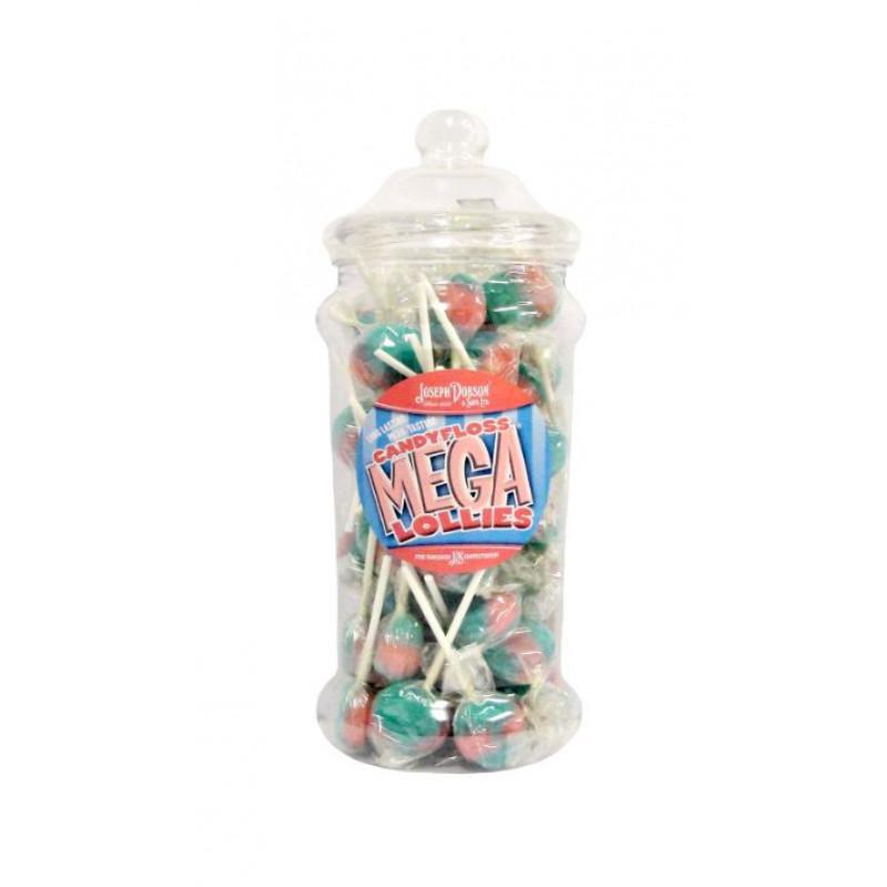 Candy Floss Lollies 1Kg Victorian Jar