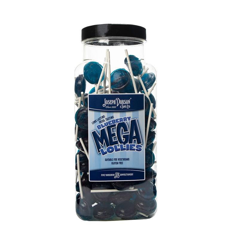 Blueberry 90 Lollies Per Jar