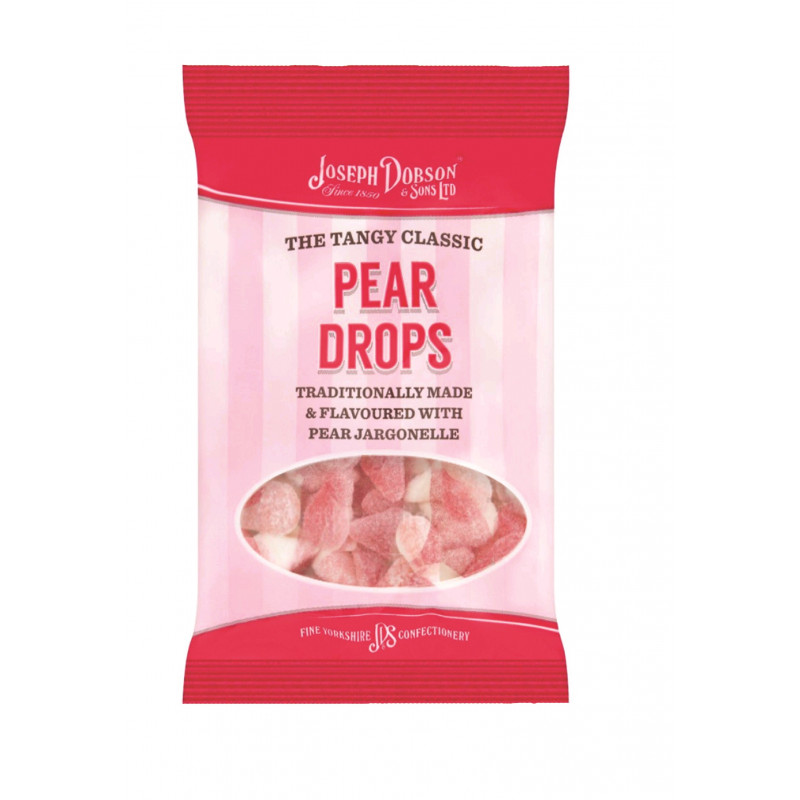 Pear Drops 200g Standard Bag