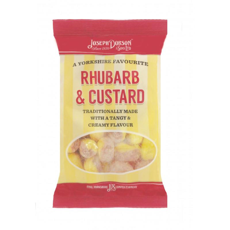 Rhubarb & Custard 200g Standard Bag