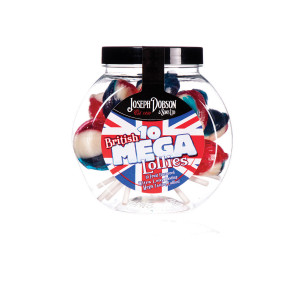 Great British 10 Lollies Per Jar
