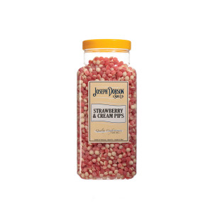 Strawberry & Cream Pips 2.72kg Large Jar
