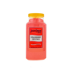 Strawberry Crystals 2.72kg Large Jar