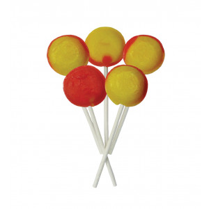 Pear Drop 5 Lollies Per Bag
