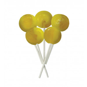Pineapple 5 Lollies Per Bag