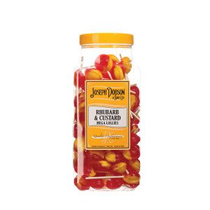 Rhubarb & Custard 90 Lollies Per Jar