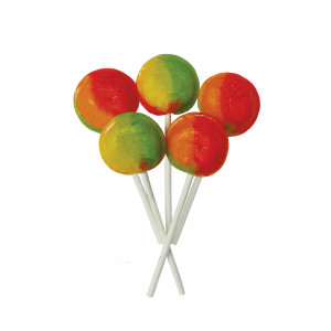 Tropical Fruit 5 Lollies Per Bag