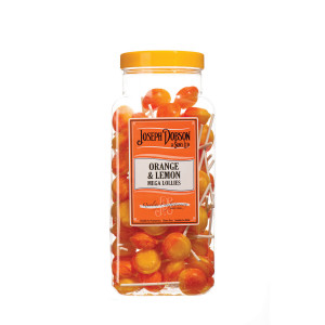 Orange & Lemon 90 Lollies Per Jar