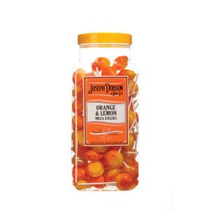 Orange & Lemon 90 Lollies Per Jar