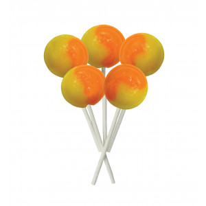 Orange & Lemon 5 Lollies Per Bag
