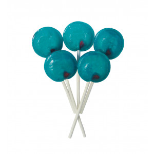 Bubblegum 5 Lollies Per Bag