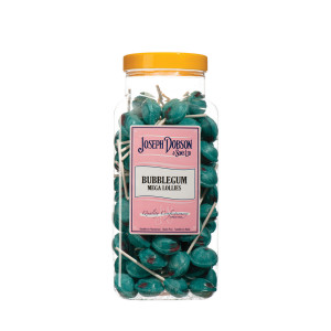 Bubblegum 90 Lollies Per Jar