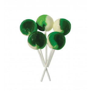 Sour Apple 5 Lollies Per Bag