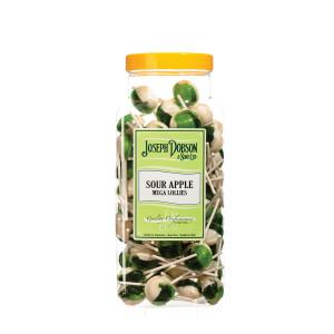 Sour Apple 90 Lollies Per Jar