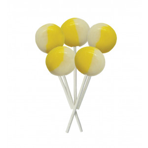 Lemon Meringue 5 Lollies Per Bag