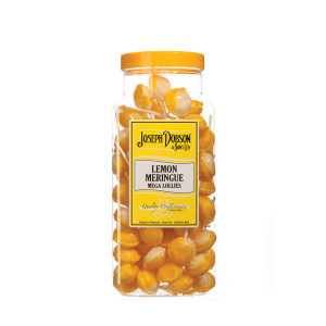 Lemon Meringue 90 Lollies Per Jar