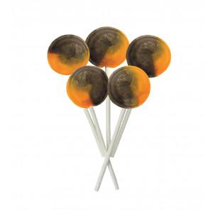 Chocolate Orange 5 Lollies Per Bag