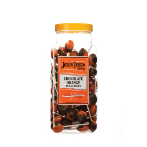 Chocolate Orange 90 Lollies Per Jar