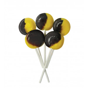 Caramel & Custard 5 Lollies Per Bag