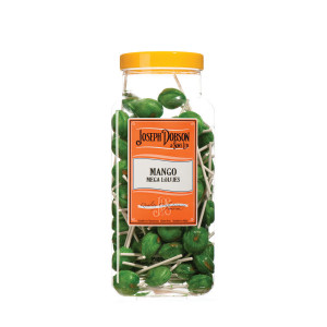 Mango 90 Lollies Per Jar