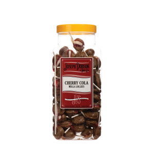 Cherry Cola 90 Lollies Per Jar