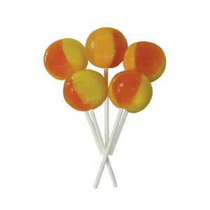 Orange & Pineapple 5 Lollies Per Bag
