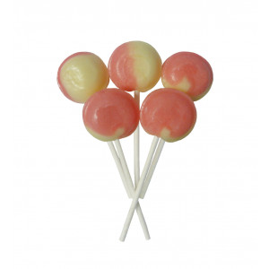 Marshmallow 5 Lollies Per Bag