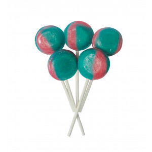 Candy Floss 5 Lollies Per Bag