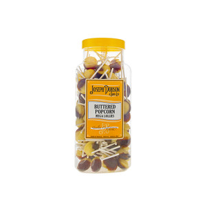 Buttered Popcorn 90 Lollies Per Jar