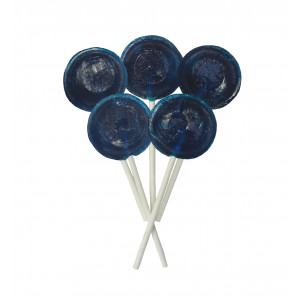 Blueberry 5 Lollies Per Bag