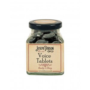 Voice Tablets 180g Glass Jar