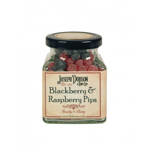 Blackberry & Raspberry Pips 180g Glass Jar