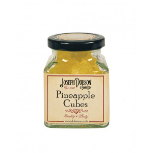 Pineapple Cubes 180g Glass Jar