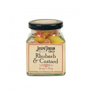 Rhubarb & Custard 180g Glass Jar