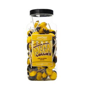Banana Split 90 Lollies Per Jar